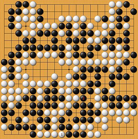 柳時熏(黑)vs王立誠(白)