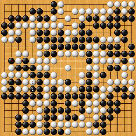 馬曉春(黑)vs淡路修三(白)