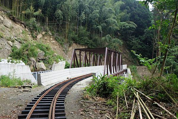 尚未落地生根的鐵橋