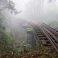 跨越山林溪谷的鐵橋