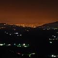 永安興達港發電廠方向夜景