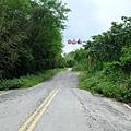 鸞山37K碎石路段入口端