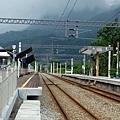山里車站往北