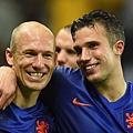 Arjen Robben與Robin van Persie
