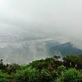 雲霧繚繞的大台北風景