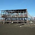 架高構造的竹篙寮