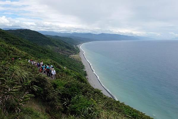 海拔120公尺最高點海岸風景