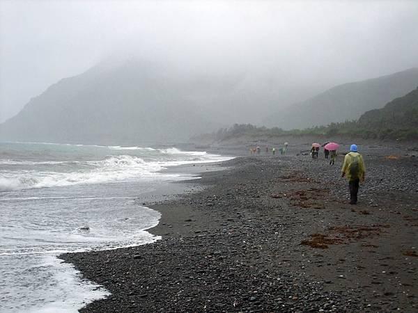 雨中海岸縱走