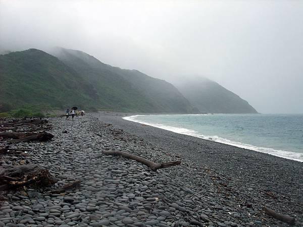 雨中東部海岸風景