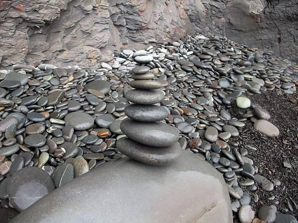 堆疊南田石