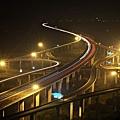中港系統交流道夜景