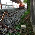 阿里山森鐵起點:嘉義車站鐵路里程0km