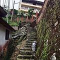 山村中的階梯步道