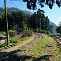 鐵道右側將有極佳眺望視野