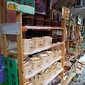 921大地震後的車埕特色商品:木桶便當