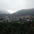 雨霧中的山城:車埕