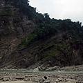 地殼變動造成的傾斜地層