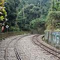 鐵道旁有壁畫