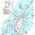 旅行Map2:臺北飛航區情報航路圖