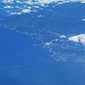 鳥瞰基隆港及基隆嶼