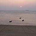 馬港海邊的夕照,系列之四