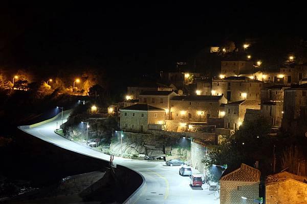 北竿芹壁村的夜