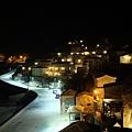 芹壁村的夜,遠景