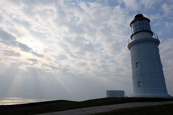 東犬燈塔的晨光