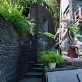 岩板巷中的石板屋
