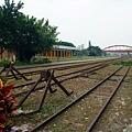 景觀7:進入高雄港站車場