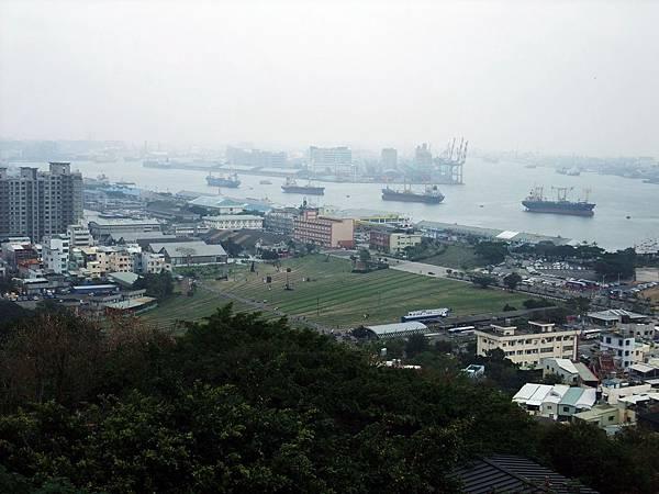 高雄港港口風光