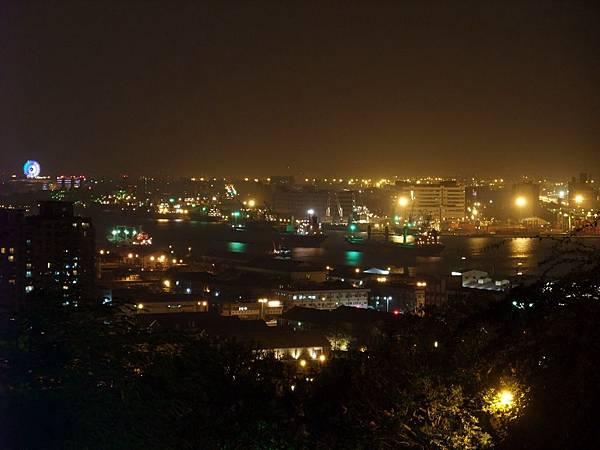 高雄港港口夜景