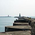 景觀1:高雄第二港口的出海口與防波堤
