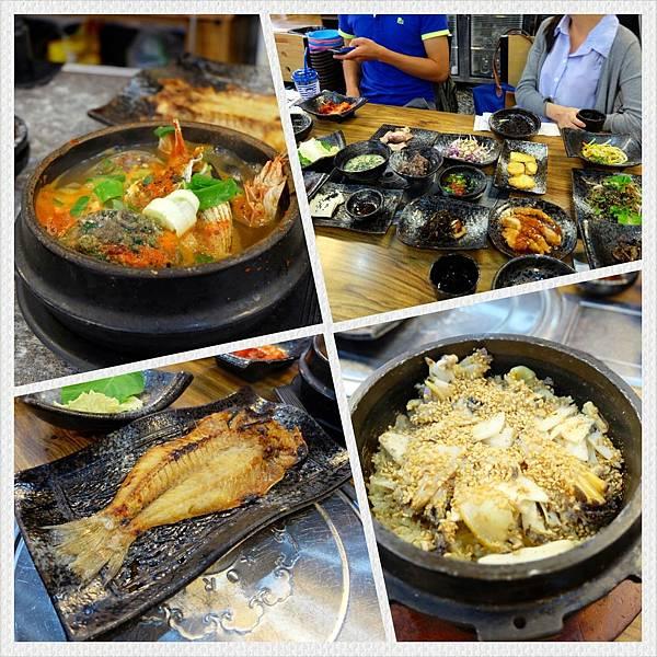 濟州島美食「雲亭家烤魚套餐」