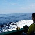 始終茫茫的藍色大海
