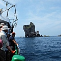 北方三島考察團欣賞棉花嶼