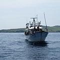 海釣船與棉花嶼