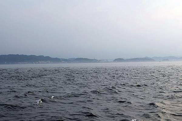 遙望台灣本島