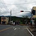 縣道200甲起點,全滿州鄉唯一的紅綠燈