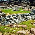 沉積岩層結構