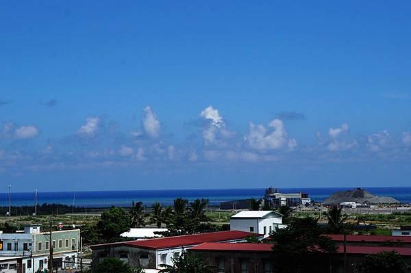 海上雲朵跳舞,台東純樸風光