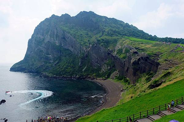 城山日出峰海水浴場