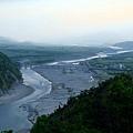 秀姑巒溪流經花東縱谷平原