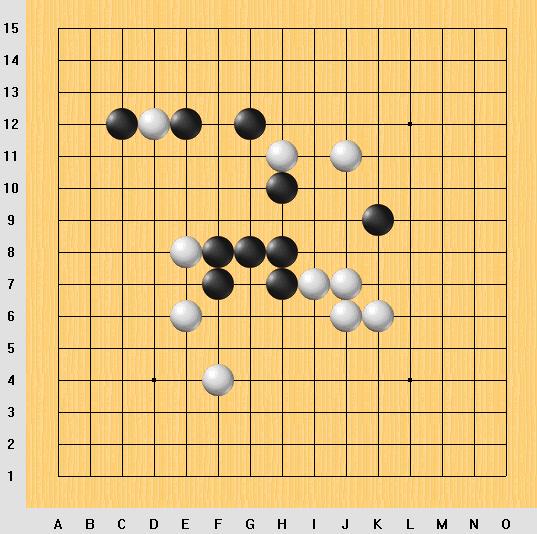 練習譜:黑先勝