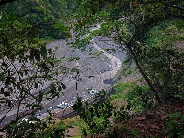 俯瞰大武溪河谷