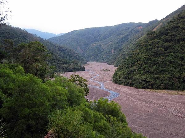 大武溪河床枯水期