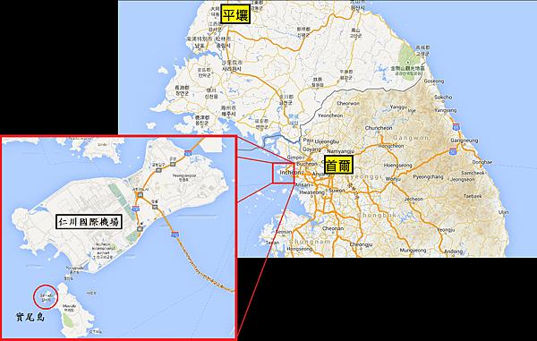 實尾島Map