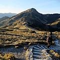 石門山步道下山方向