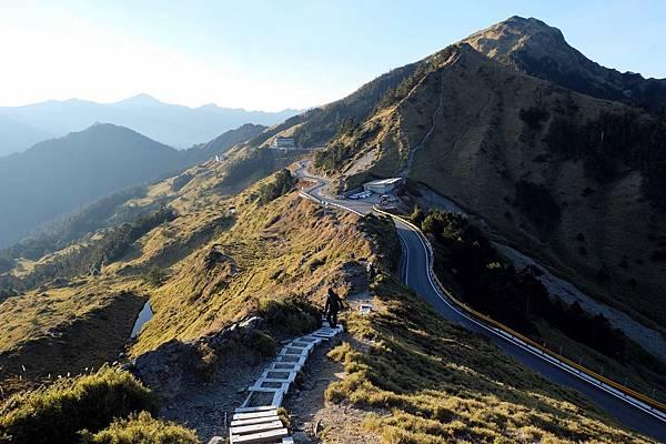 石門山步道與高山公路風景