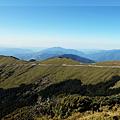 合歡東峰山頂展望風景